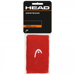 HEAD Wristband 5' (RED)