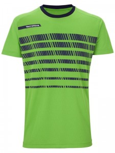 Koszulka do tenisa TECNIFIBRE F2 GREEN NAVY