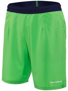 Spodenki tenisowe TECNIFIBRE STRETCH SHORT GREEN