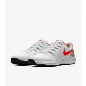 Buty do tenisa NIKE Air Zoom Prestige (white/red) (1)