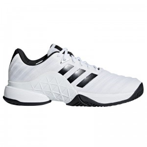 Buty do tenisa ADIDAS BARRICADE 2018 (white/core black)