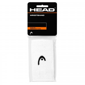HEAD Wristband 5' (WHITE)