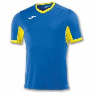 Koszulka do tenisa JOMA T-SHIRT CHAMPION IV ROYAL-YELLOW S/S