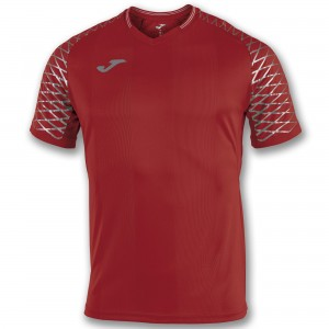 Koszulka do tenisa JOMA T-SHIRT OPEN FLASH RED S/S