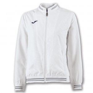 JOMA JACKET TORNEO II MICRO WHITE WOMAN