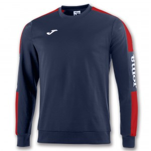 JOMA SWEATSHIRT CHAMPION IV NAVY-RED