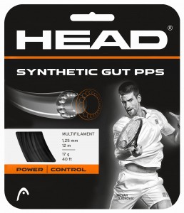 HEAD Synthetic Gut PPS (BLACK) - 12 m