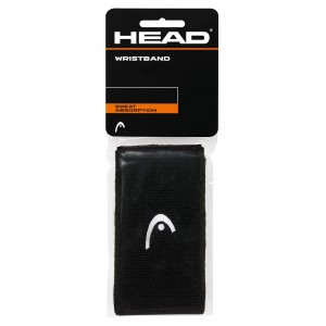 HEAD Wristband 5' (BLACK)