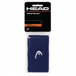HEAD Wristband 5' (NAVY)