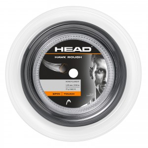 HEAD HAWK ROUGH REEL (ANTRACITE) - 120 m