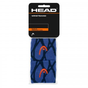 HEAD RADICAL WRISTBAND 2.5'' (NAVY)